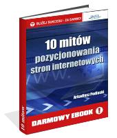 eBook - 10 Mitów Pozycjonowania Stron Internetowych