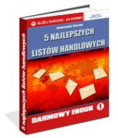 eBook - 5 Najlepszych Listów Handlowych
