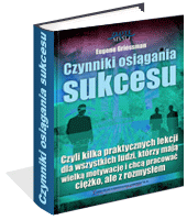 eBook - Czynniki Osiągania Sukcesu