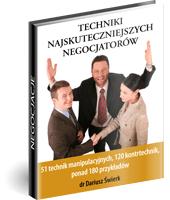 eBook - Techniki Najskuteczniejszych Negocjatorów